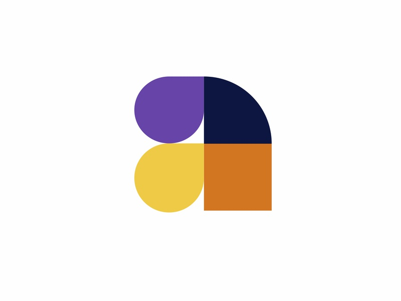 LOGO A black mark animal branding identity icon marks illustration symbol logo design