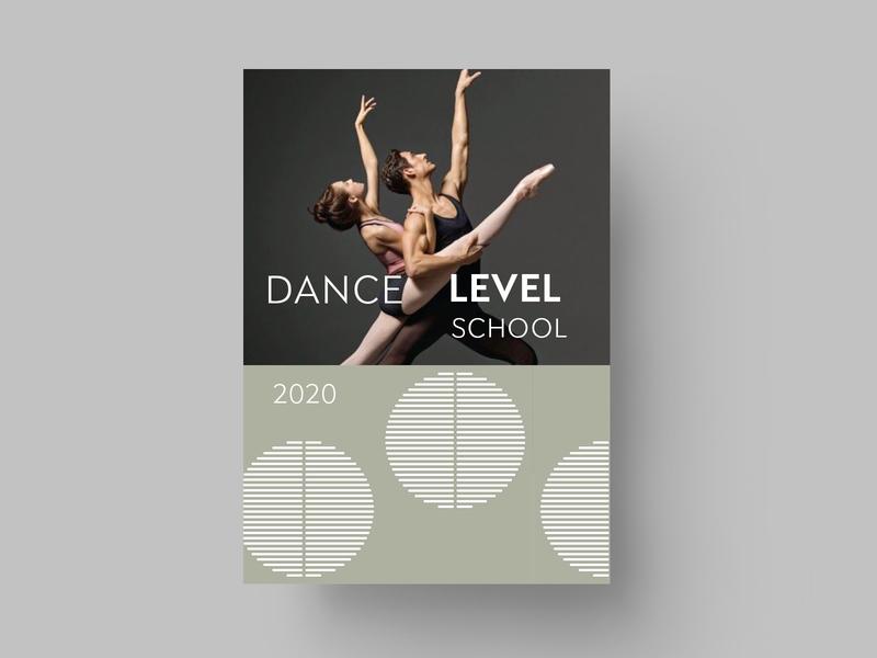 LAYOUT - DANCE layout cover line black mark animal branding identity icon marks illustration symbol logo design