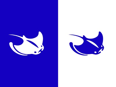 MANTA RAY - LOGO clean wave sea ray manta manta ray mark animal branding identity icon marks illustration symbol logo design