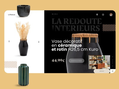 Webdesign - Laredoute la redoute figma webdesign designs sketch ui ux mark animal branding identity icon marks illustration symbol logo design