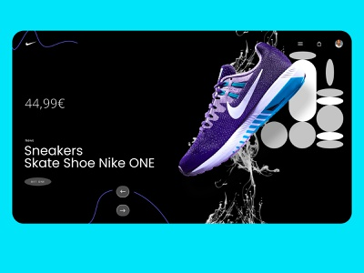 WEBDESIGN - NIKE adidas nike shoes webdesign ux figma sketch xd vector ui branding identity icon marks illustration symbol logo design