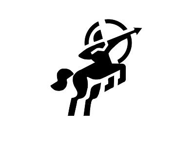 LOGO - CENTAUR - SKETCH knight archer runner horse centaur mythology mark animal branding identity icon marks illustration symbol logo design