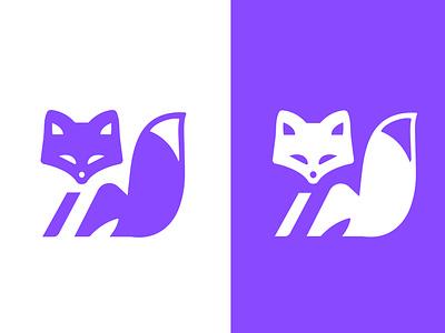 FOX - LOGO clever smart fox mark animal branding identity icon marks illustration symbol logo design