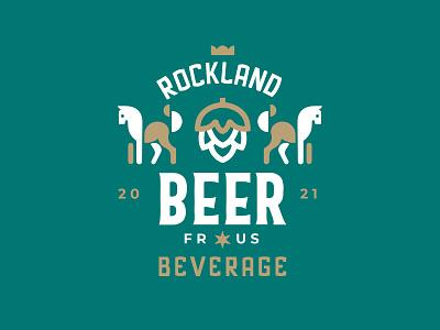 BEER beer horse vector branding ui identity icon marks illustration symbol logo design