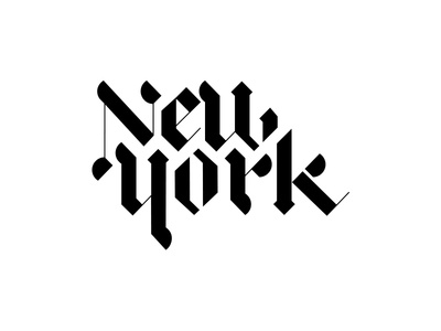 New York By Matthieumartigny Dribbble