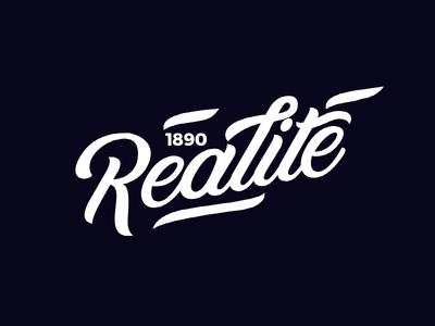 Realite / calligraphy