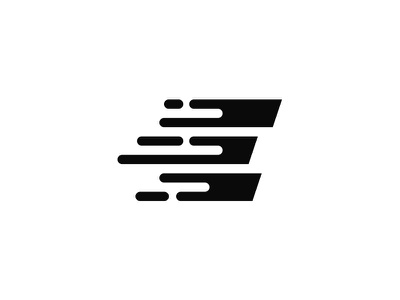Monogram E = Express symbol e minimal marks logo illustration identity icon express design branding monogram