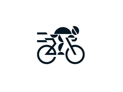 Bicycle logo symbol sport minimal marks logo illustration identity icon natual bicycle design branding