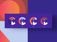 logo c - texture / gradient