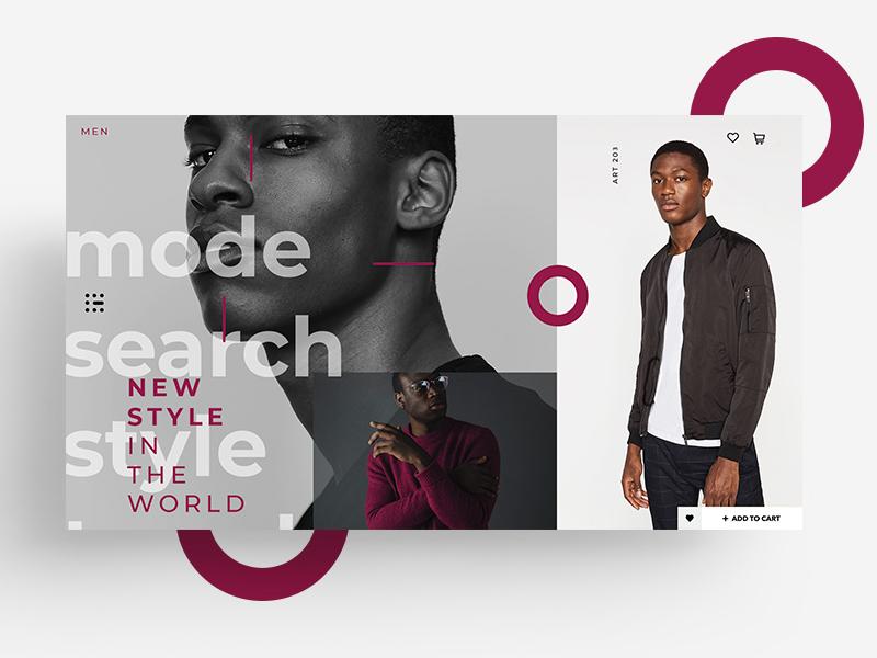 web ACTUALITY mark ux fashion men mode trend app shop interface web  design ux web ux  ui ios template web branding design identity icon ui