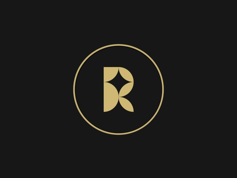 R grid calligraphy letter logotype typography graphic lettering design monogram line black branding mark animal identity icon marks illustration symbol logo