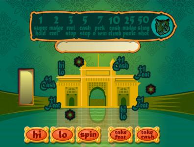 iTV Bombay Slots game ui illustration