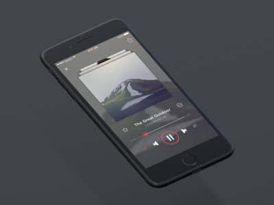 music player music player ui