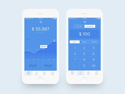 Money Management money app ui
