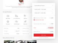 Peer to peer car rental