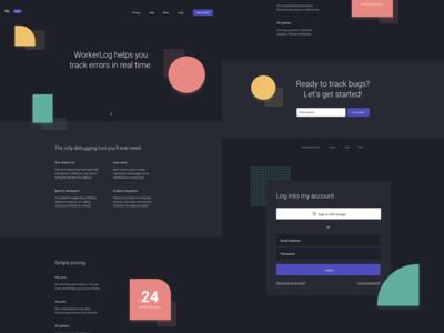 WorkerLog Landing Page