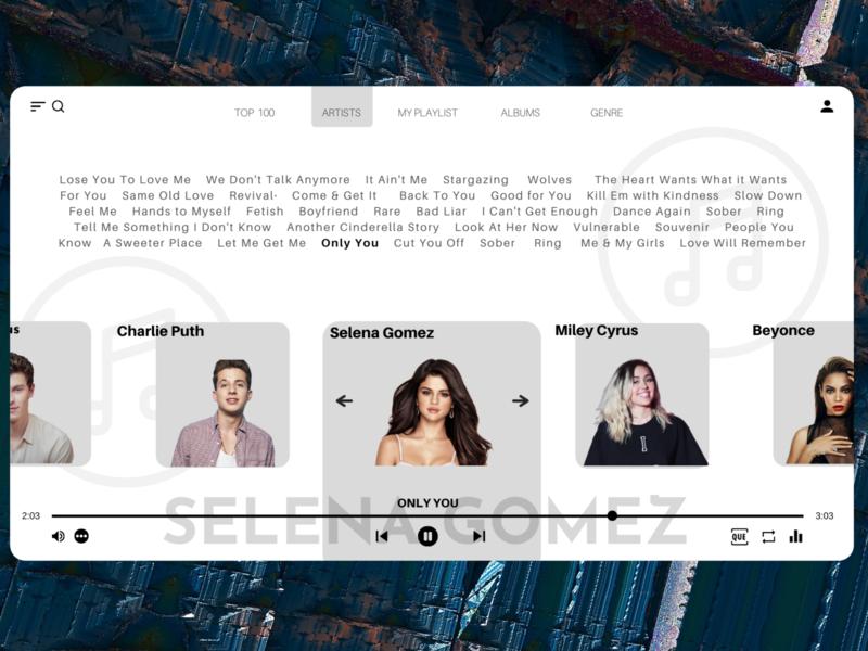 Day 8/30 Online Music Streaming Platform UI Design music app uxinspiration uiinspirations uiinspiration uxtrends uitrend webdesigner web design webdesign website appdesigner uidesign appdesign 30dayschallenge ui ux graphicdesign minimal 30daysofdesign design