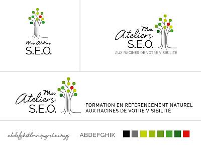 """Création De Logo pour """"Mes Ateliers SEO"""" logo"""