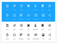 Cleaner app icons