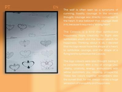 Marca Pessoal/Personal Brand - Letícia Lopes personal brand personal logo logo graphicdesign logotipo designgraphic designer vetor vector logotype design gráfico design coreldraw