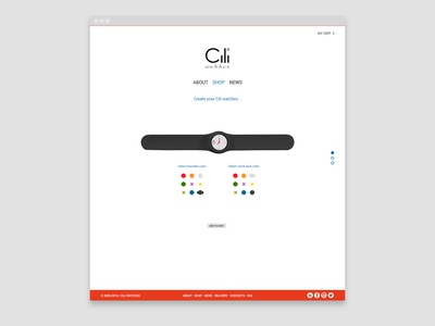 Cili Watches redesign