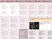 Vimpt Events Calendar