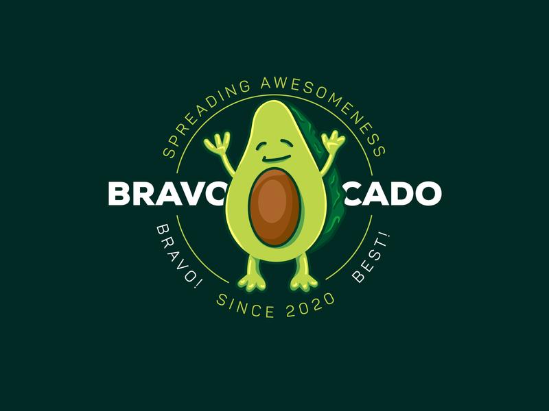 Bravocado illustration