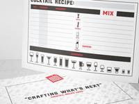 Cocktail Recipe Card