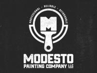 Modesto Painting Company Logo