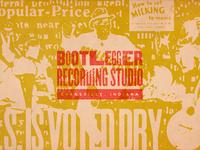 Bootlegger Recording Studio Branding