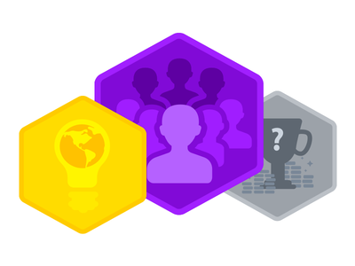 Badges for almanis Gamification tiers badges gamification