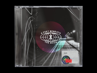 5/10 — King Krule - 6 feet beneath the moon design modern graphic design typography type album cover album art album