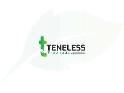 T letter logo with leaf leaf logo t letterlogo t illustrator design