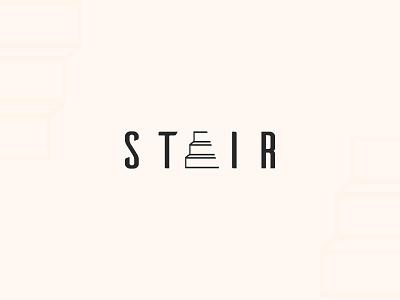 Stair Wordmark logo branding typography logo design stair logo letter logo word logo wordmark logo logo