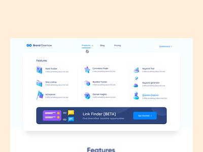 Dropdown Design - Brandoverflow 2020 icons 3dicon visual design ui  ux uidesign dropdown products