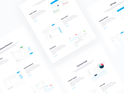 Features Content Section clean ui clean minimal content design features page
