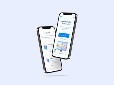 Brand Overlfow - Mobile Size Design ui design ui minimal clean mockup responsive design mobile app mobile ui mobile