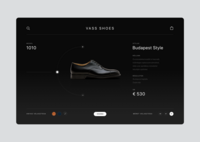 Vass Shoes product page
