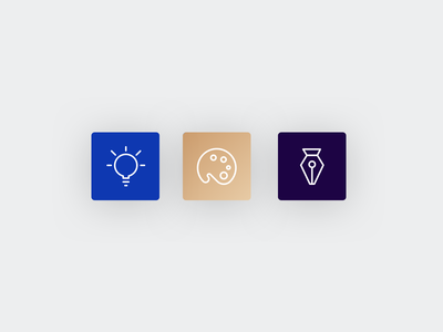 Sunday experimenting card vector illustration design ui icon