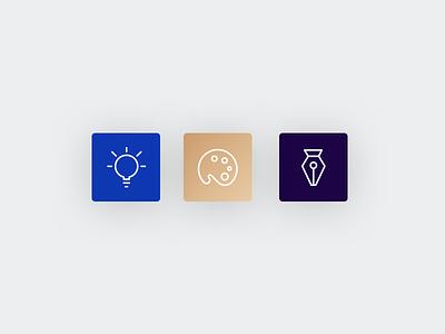 Sunday experimenting card vector illustration design ui icon