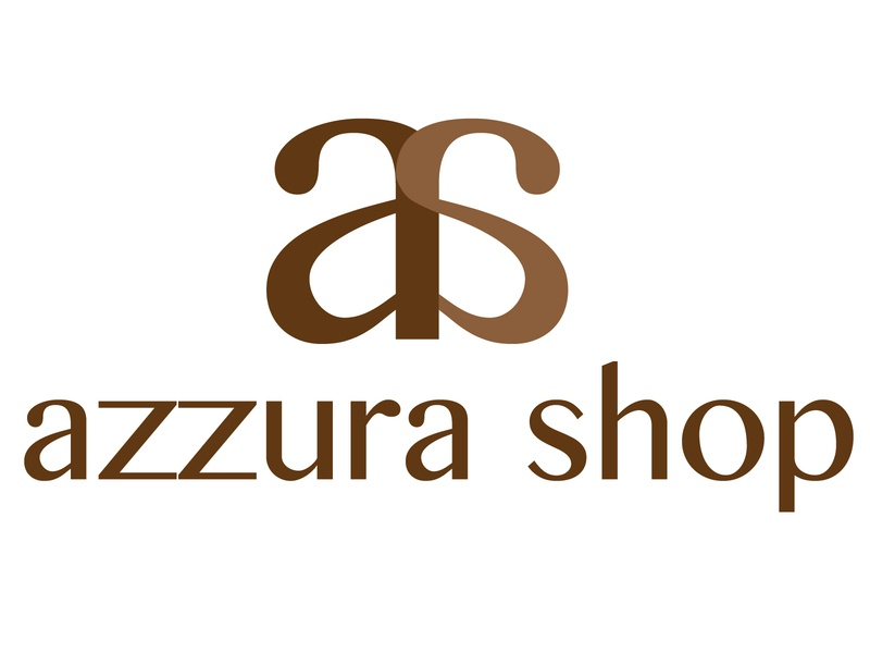 Azzura Shop Logo #2D Design design vector logo illustration