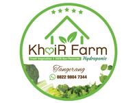 KhoiR Farm Hydroponic Logo #2D Design vector illustration design logo