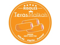 Risoles Teras Malikah Logo #2D Design vector illustration logo design