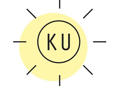 Personal Identity yellow simple logo sun logo logo sun