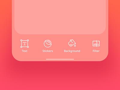 Photo App Icons photo editing photo app edit photo clean iphone ios design ui app icons