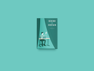 Behind The Curtain illustration cover book