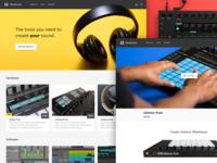 TetraSound Website