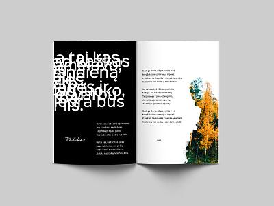RP Lyrics Book passion minimalistic minimalism emotional black red modern music musician book lyrics editorial