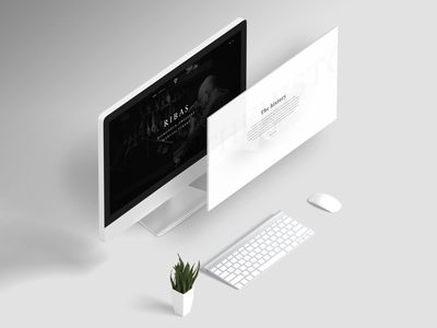 Ribas Jewellery UI/UX Design accesories supreme fashion luxurious jewellery minimal web design ux ui