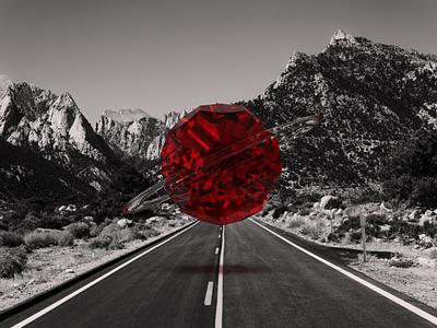 Invasion / 2 virtual sci scienfe fiction retouch reality dimension augmented aliens 3d